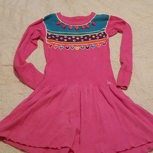 Vintage, handmade tie dye dress!